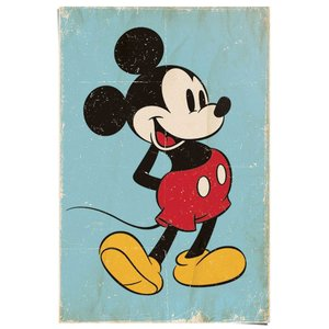 Poster Mickey Mouse retro