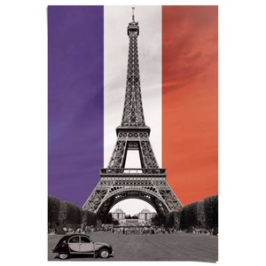 Poster Leve Frankrijk
