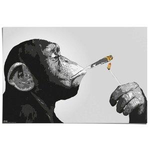 Poster Rokende Aap