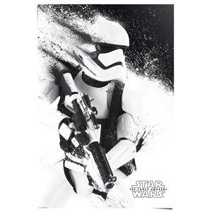 Poster STAR WARS EPISODE VII THE FORCE AWAKENS stormtrooper