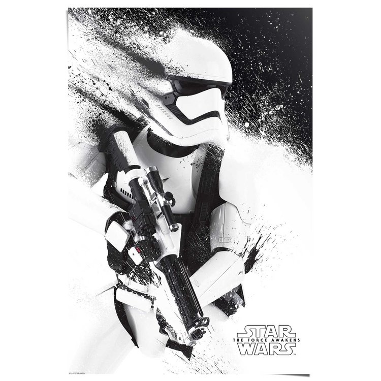 STAR WARS EPISODE VII THE FORCE AWAKENS stormtrooper  - Poster 61 x 91.5 cm