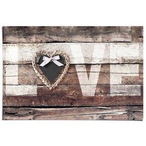 Poster Liefde in vintage stijl
