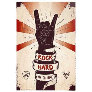 Poster Rock Hard