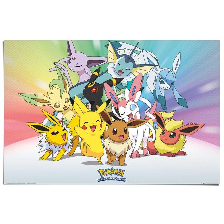 Pokemon  - Poster 91.5 x 61 cm