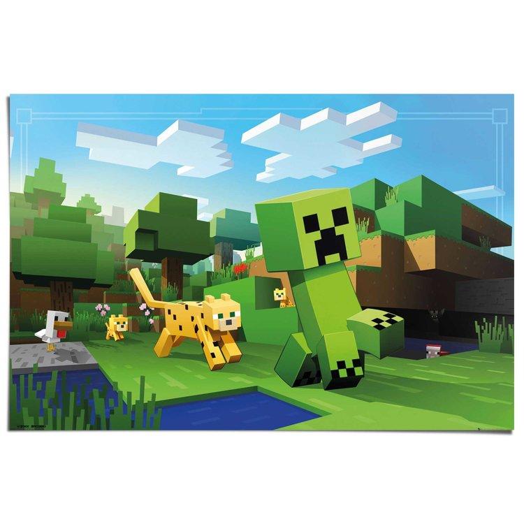 Minecraft  - Poster 91.5 x 61 cm