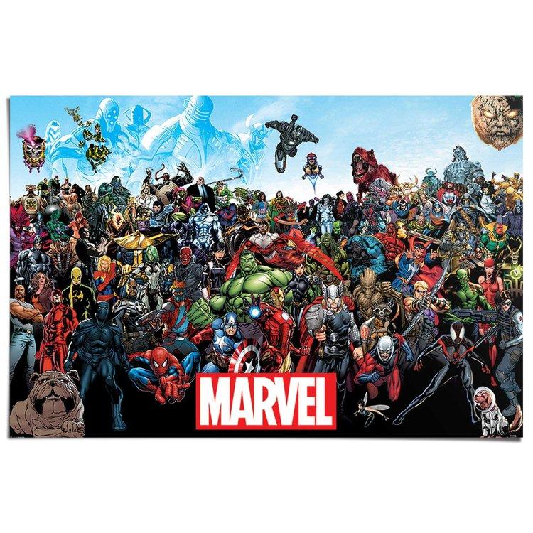 Marvel Universe  - Poster 91.5 x 61 cm