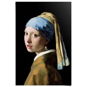 Poster Johannes Vermeer - Meisje met de parel