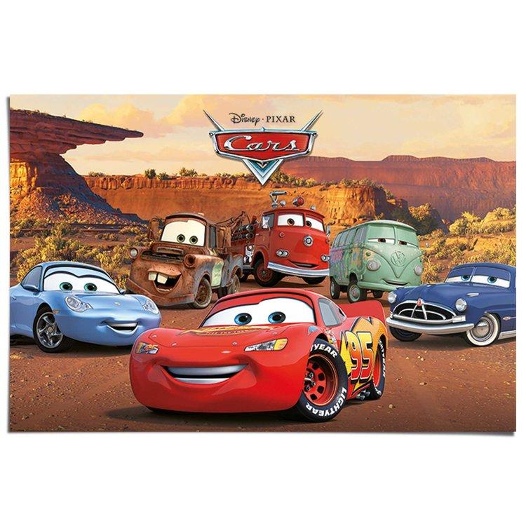 Disney Cars figuren  - Poster 91.5 x 61 cm