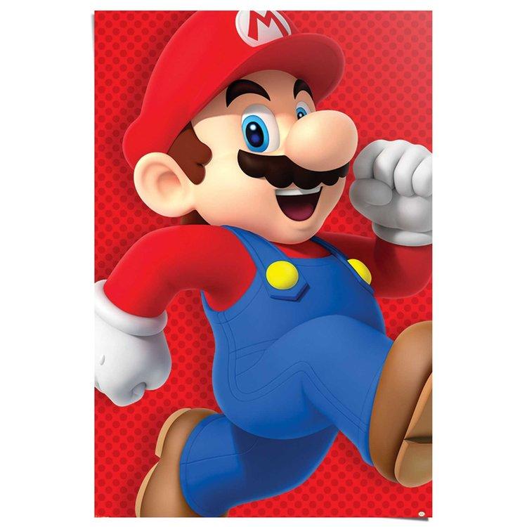 Super Mario nintendo - Poster 61 x 91.5 cm