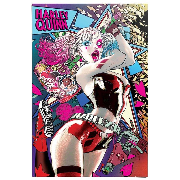 Harley Quinn Batman - Poster 61 x 91.5 cm