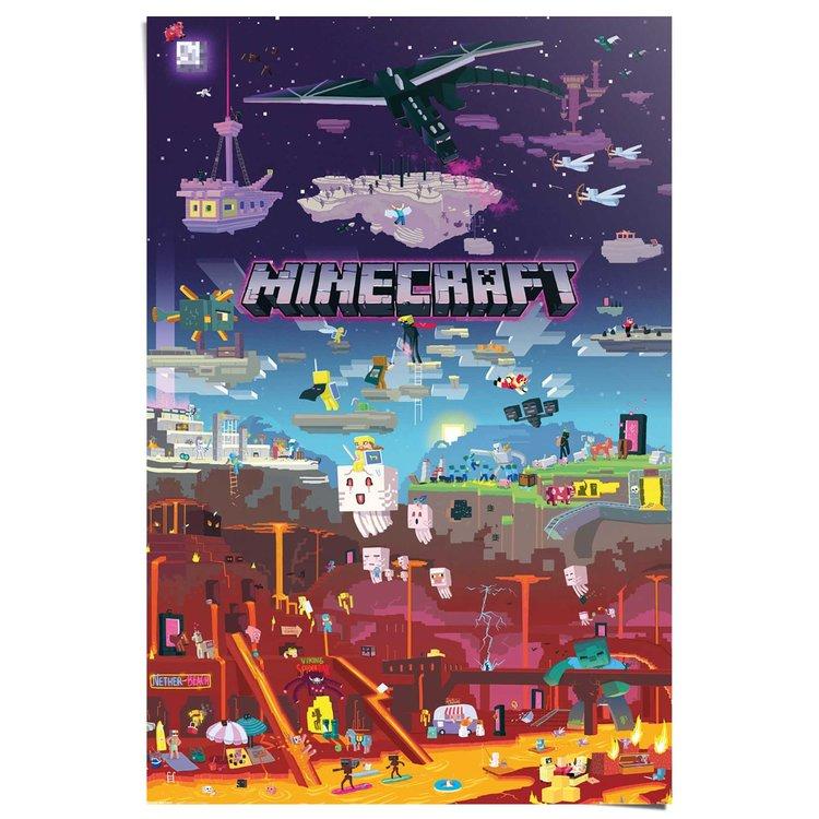 Minecraft  - Poster 61 x 91.5 cm