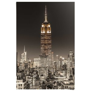 Poster Empire State Building New York