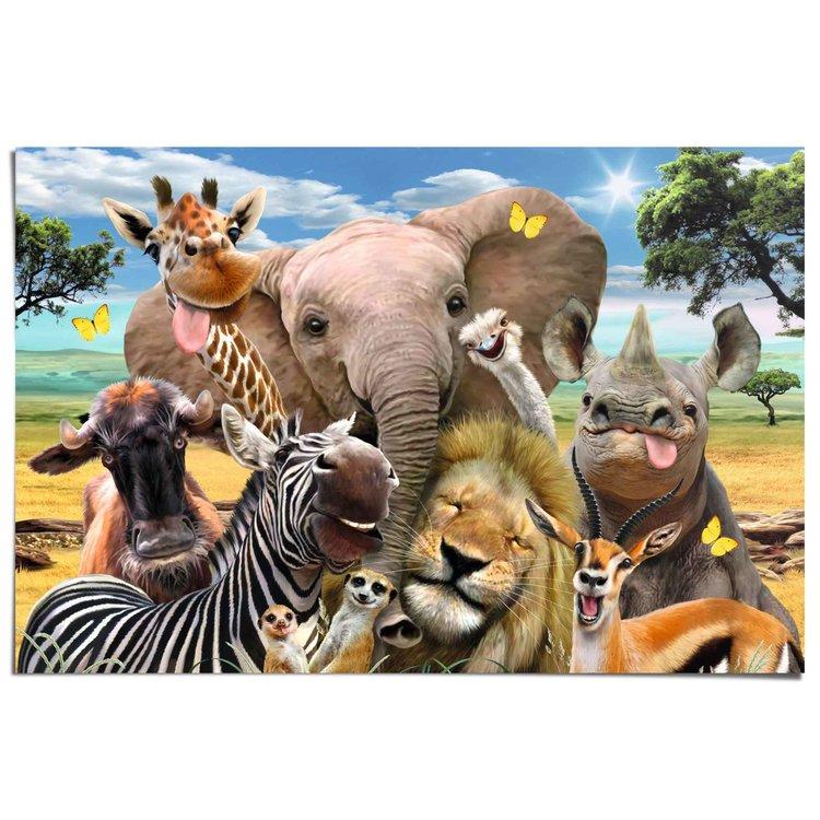 Safari - Fun!  - Poster 91.5 x 61 cm