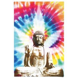Poster Rokende Boeddha