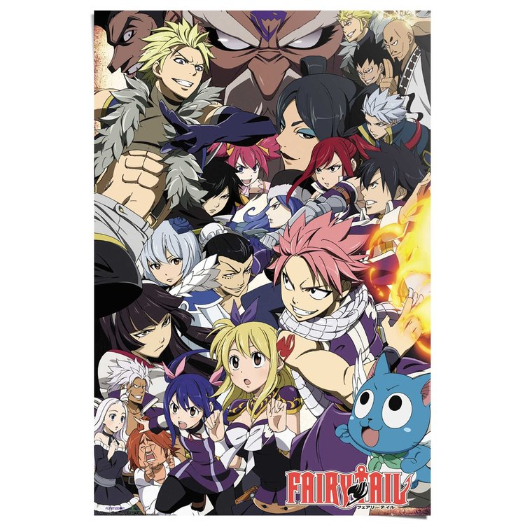 Fairy Tail  - Poster 61 x 91.5 cm