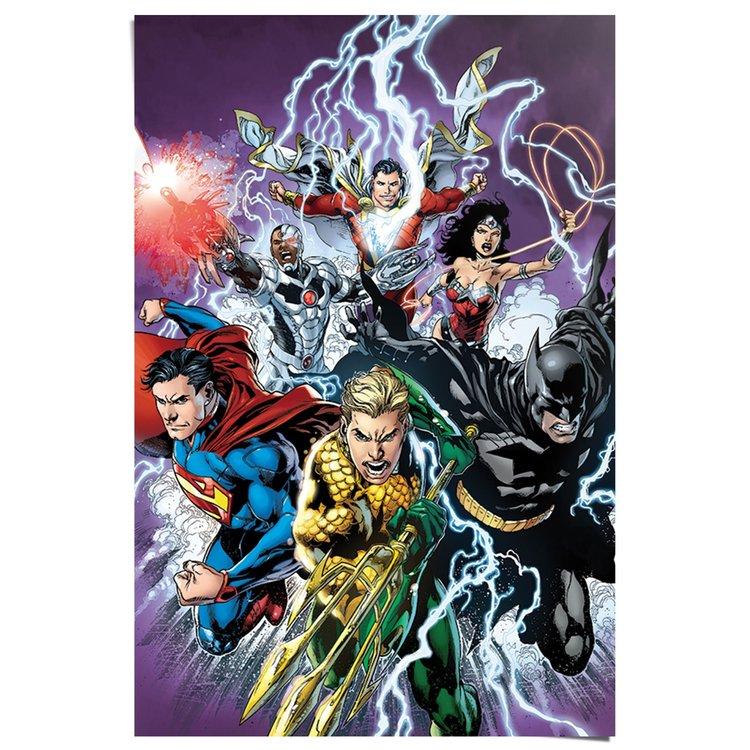 Justice League Strike - Poster 61 x 91.5 cm