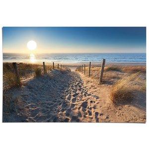 Poster Zandvoort aan zee