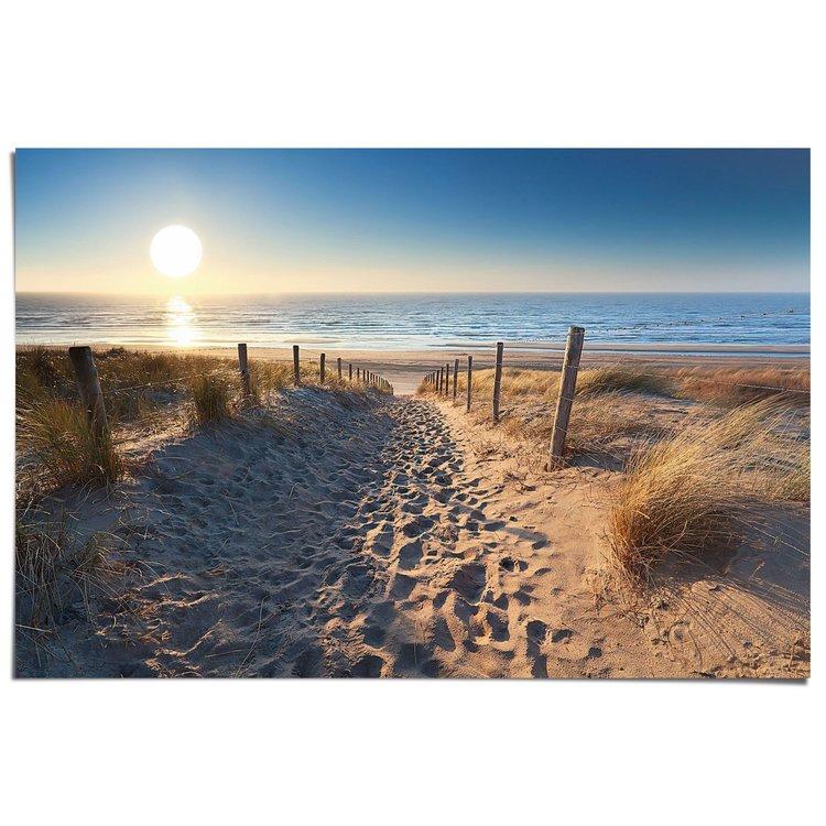 Zandvoort aan zee Duinen - Poster 91.5 x 61 cm