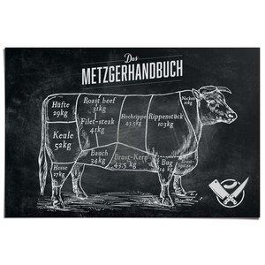 Poster Rundvlees Handleiding voor slagers - Duits