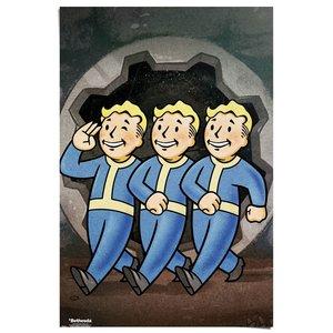 Poster Fallout - Vault Boys