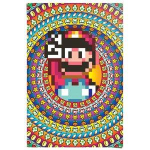 Poster Super Mario - 8 bit