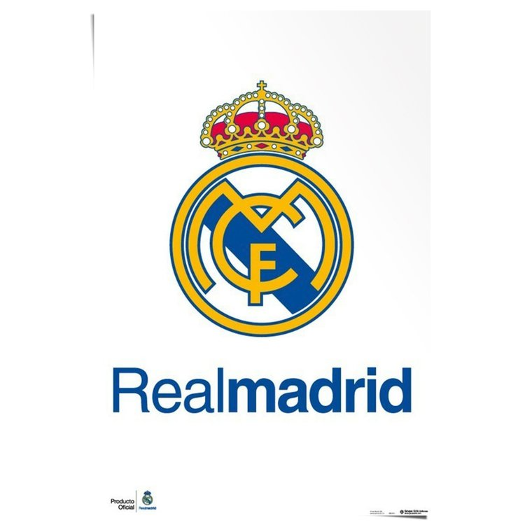 Real Madrid Logo - Poster 61 x 91.5 cm
