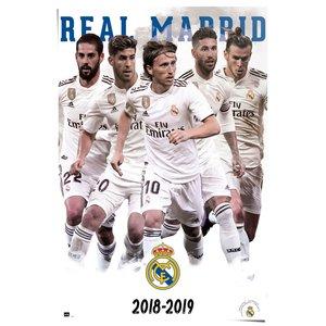 Poster Real Madrid Sterspelers