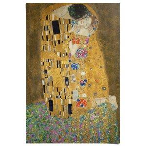 Poster Gustav Klimt De Kus