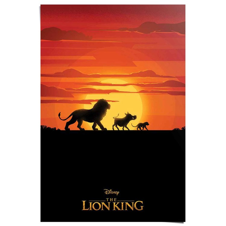 The Lion King - Poster 61 x 91.5 cm