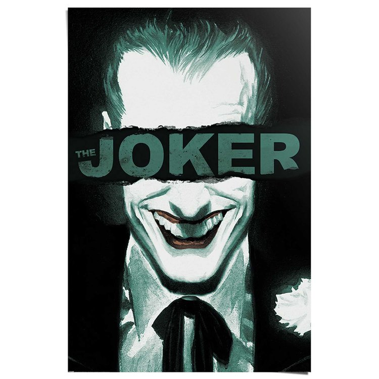 The Joker Put on a happy face - Poster 61 x 91.5 cm