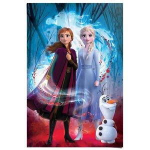 Poster Frozen 2 Anna, Elsa & Olaf