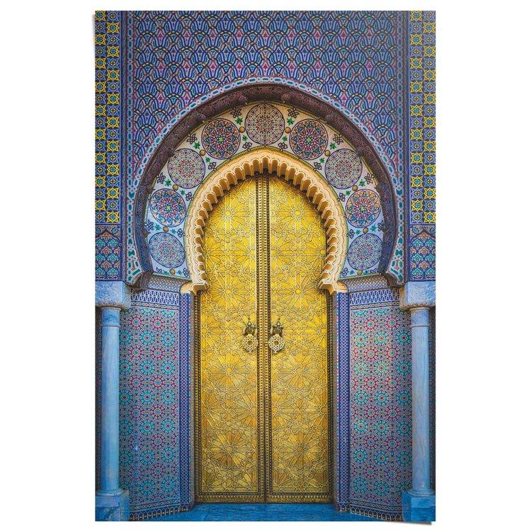 Gouden deur - Poster 61 x 91.5 cm