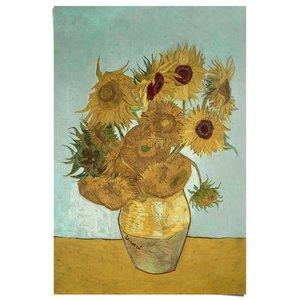 Poster Zonnebloemen Van Gogh - Stilleven - Schilderij - Bloemen