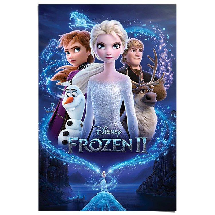 Frozen 2 Filmposter - Poster 61 x 91.5 cm