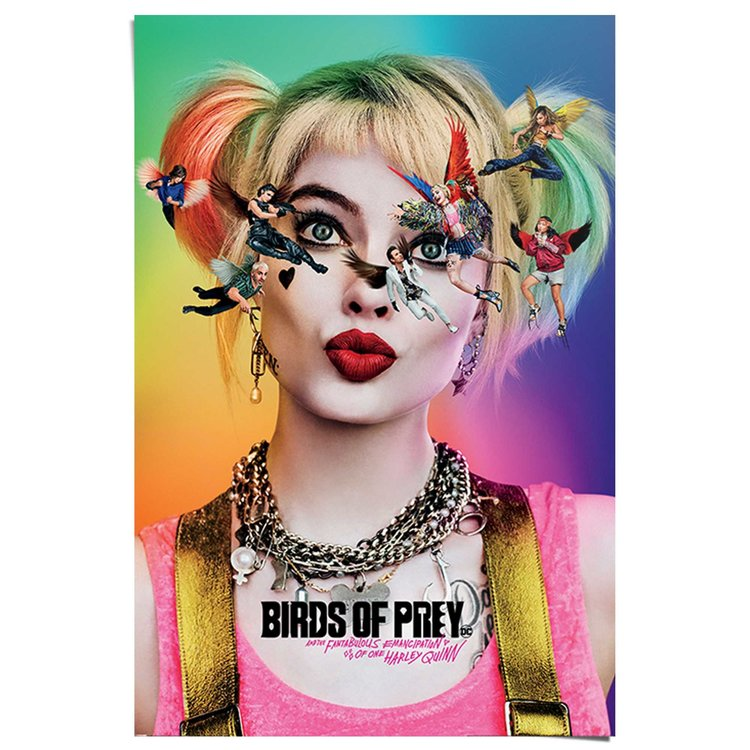 Birds of Prey Harley Quinn - DC Comics - Suicide Squad - The Joker  Poster 61 x 91 cm