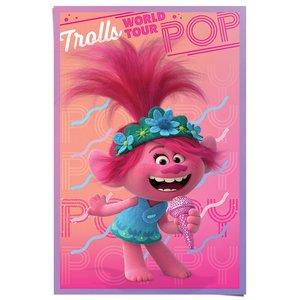 Poster Trolls wereld Tour - Poppy