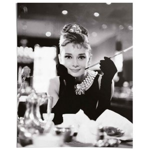 Poster Audrey Hepburn Breakfast at Tiffany's