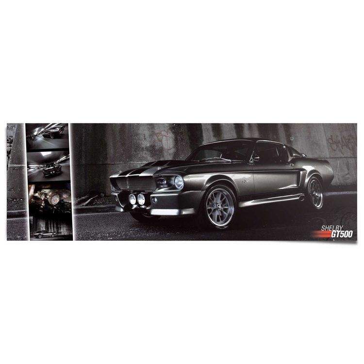 Easton Mustang GT500  - Poster 158 x 53 cm