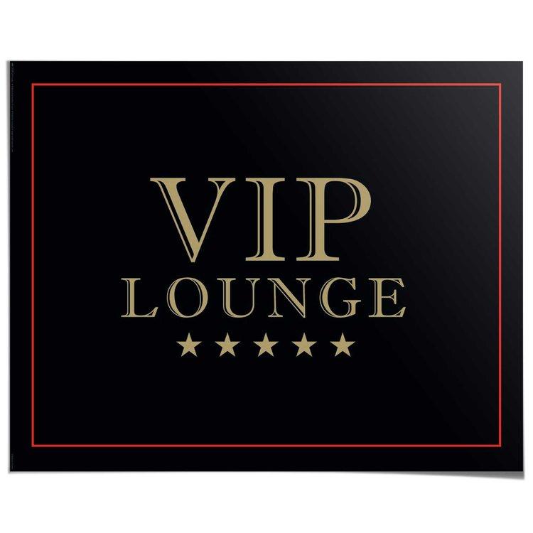VIP Lounge - Poster 50 x 40 cm