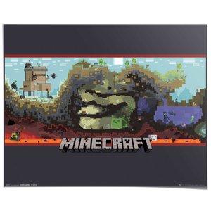 Poster Minecraft Ondergronds