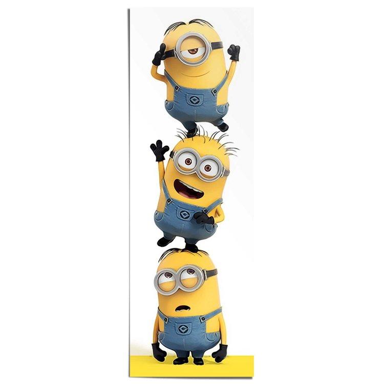 3 Minions  - Poster 53 x 158 cm