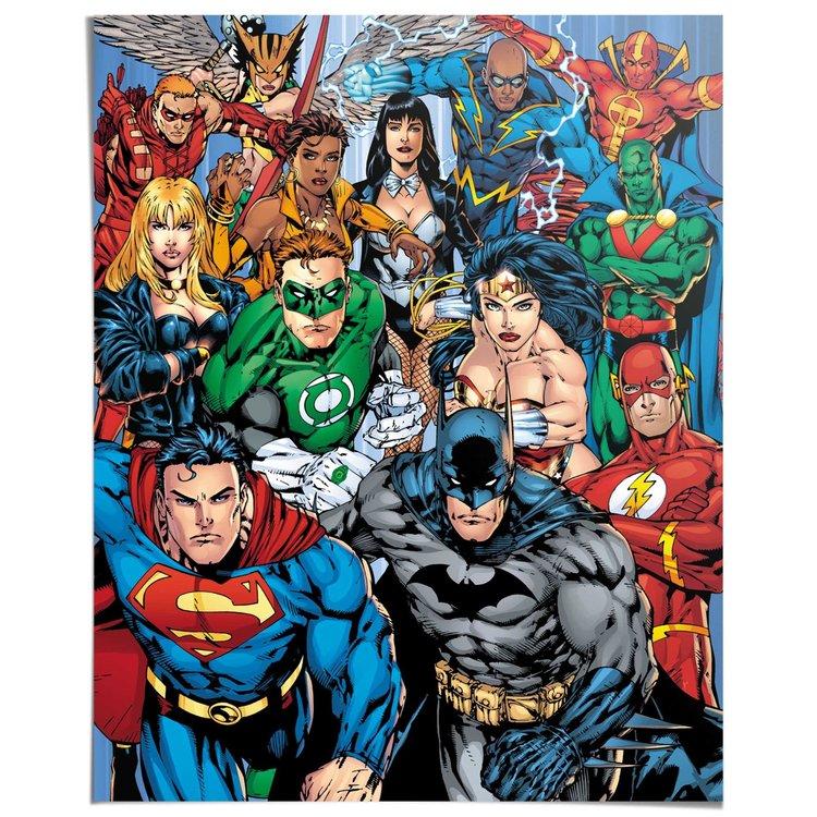 Justice League - Poster 40 x 50 cm