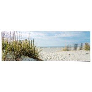 Poster Duinen en strand
