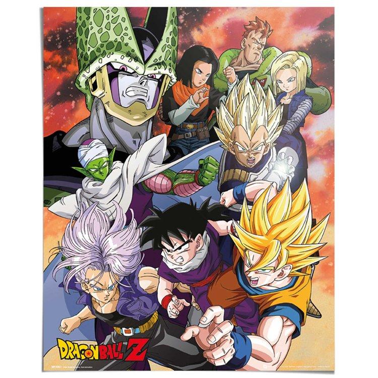 Dragon Ball Z - Poster 40 x 50 cm