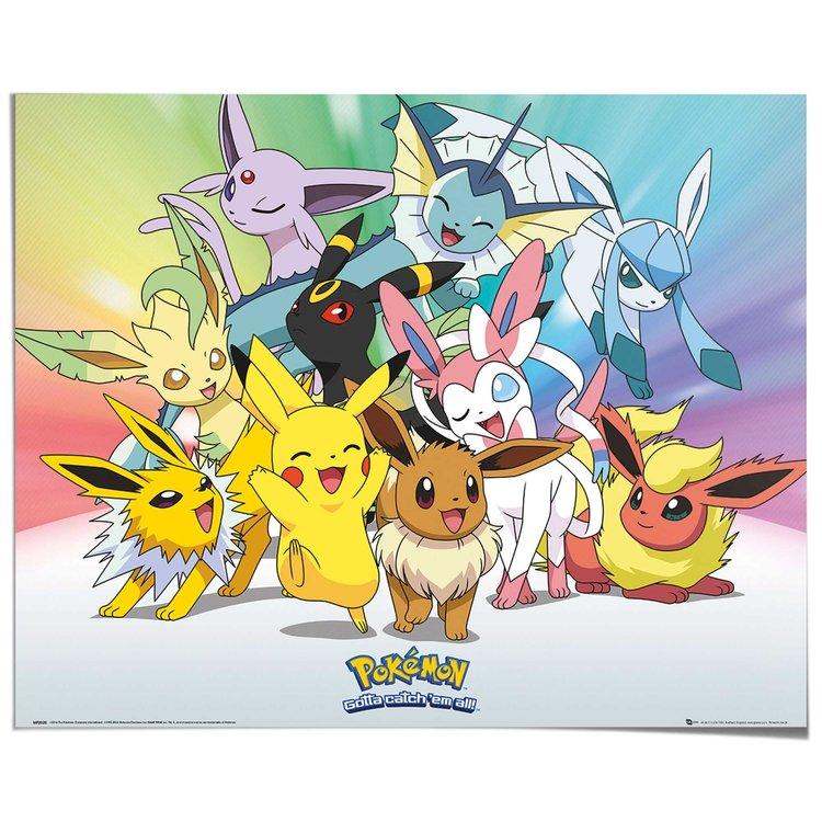 Pokemon Eevee - Poster 50 x 40 cm