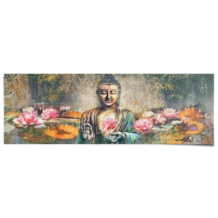 Boeddha  - Poster 158 x 53 cm