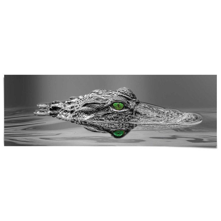 Alligator  - Poster 158 x 53 cm