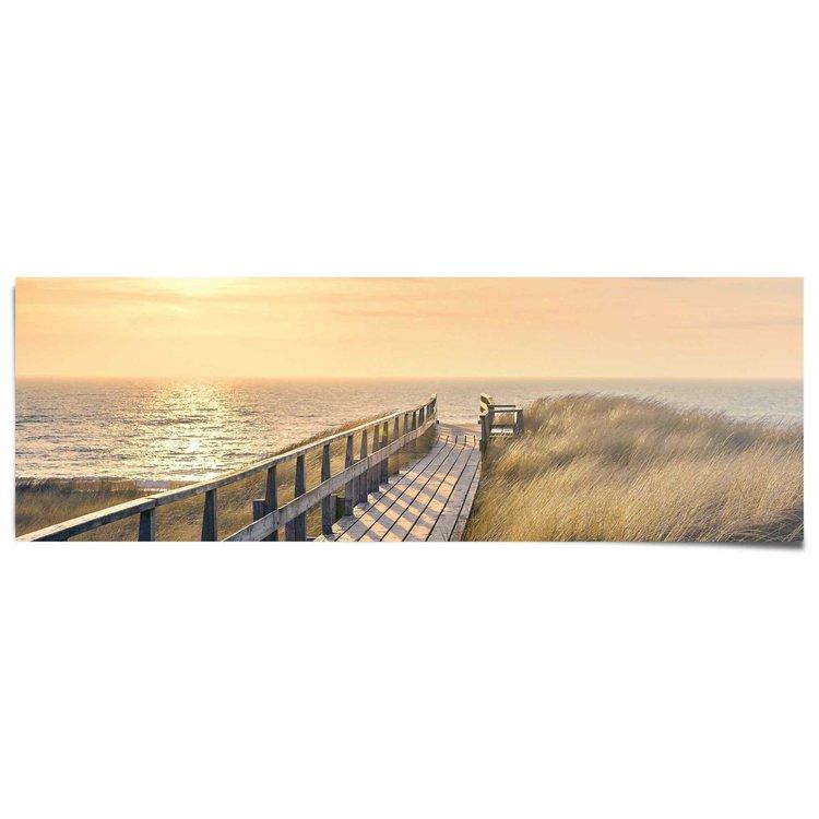 Strandpad  - Poster 158 x 53 cm