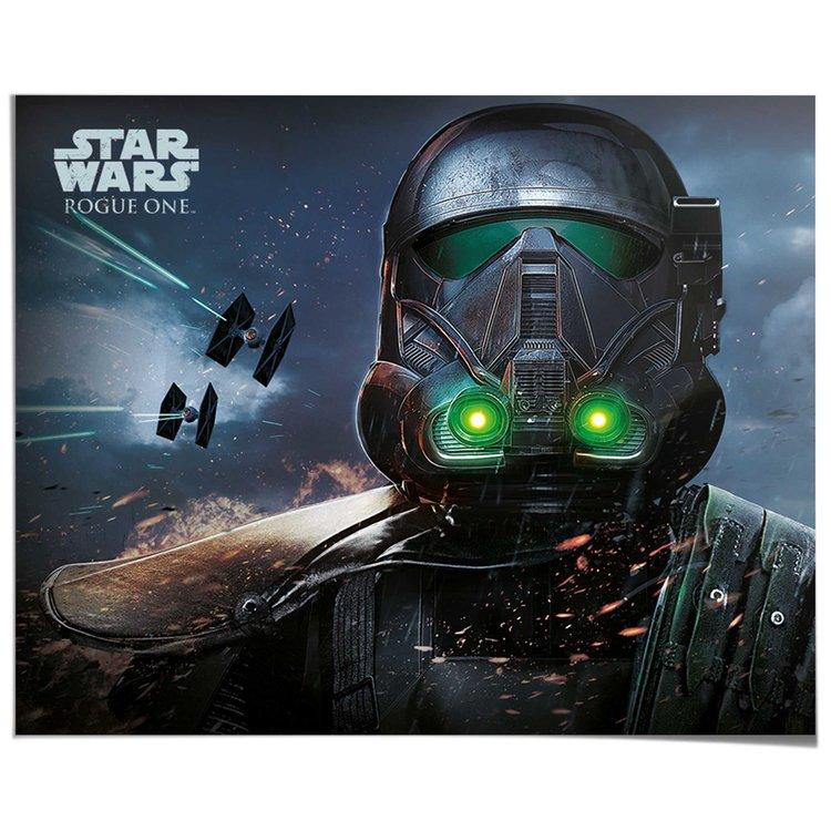 Star Wars Death Trooper - Poster 50 x 40 cm