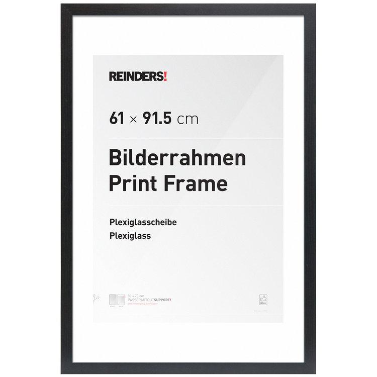 Wissellijst voor Poster 61x91,5 cm | zwart | hout | modern